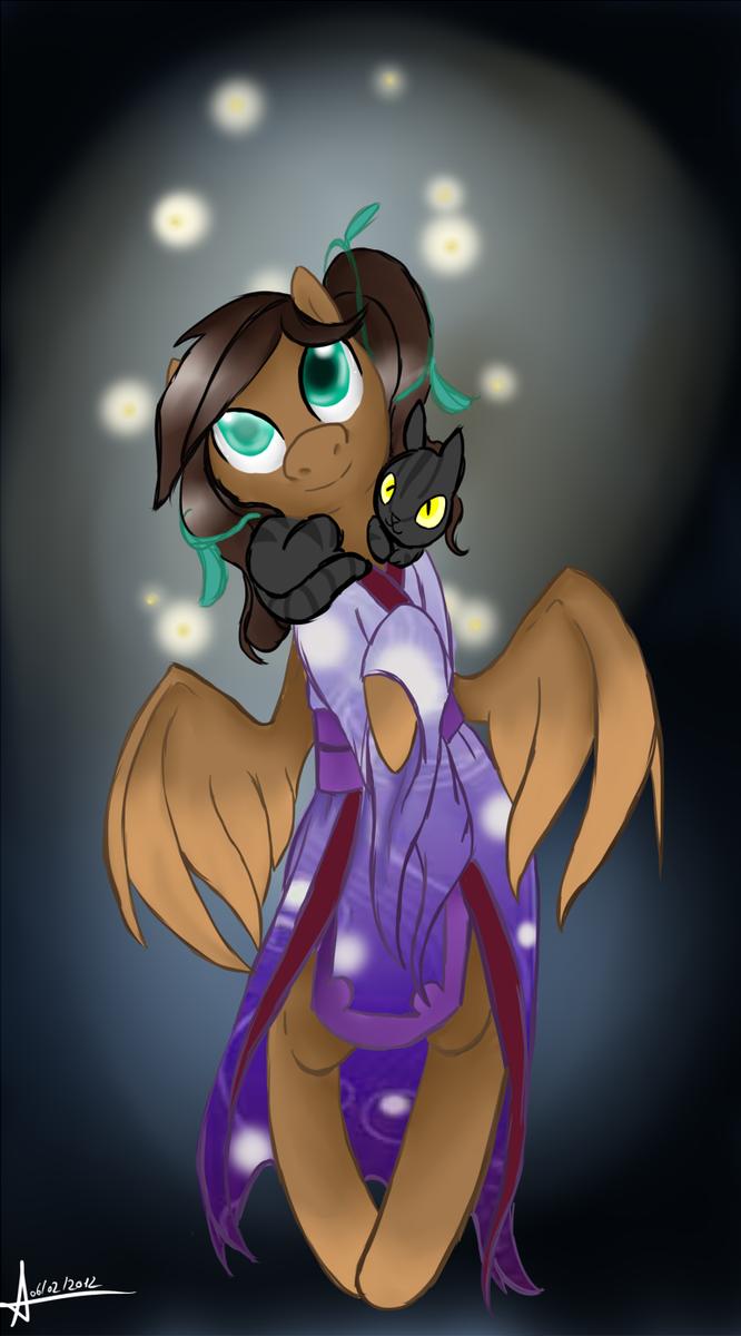 C: Witch Hazel Kimono Pony by Bally-Vhern