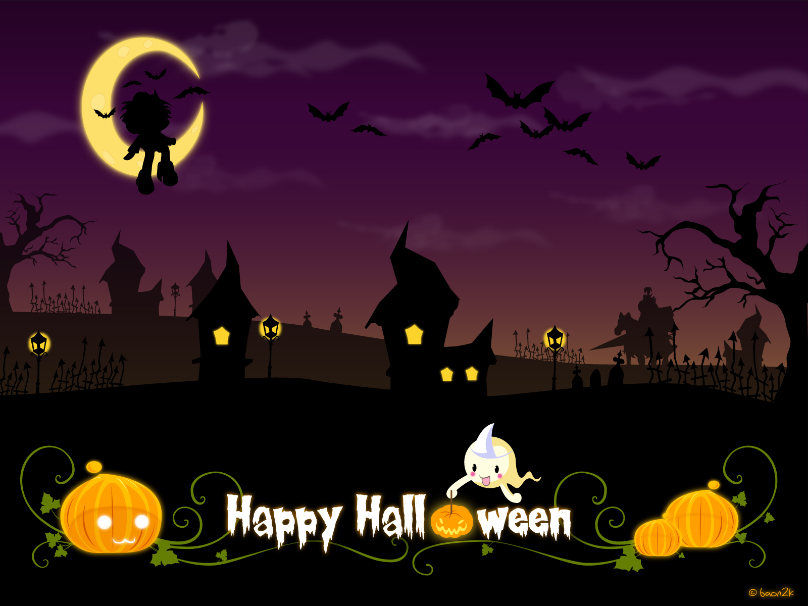 happy halloween background - photo #11
