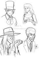 Grinning Villains by sarahn