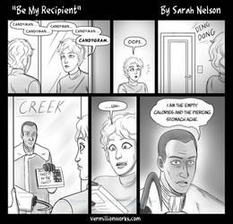 Be My Recipient - Comic Strip