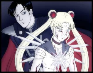 Grim Sailor Moon by sarahn