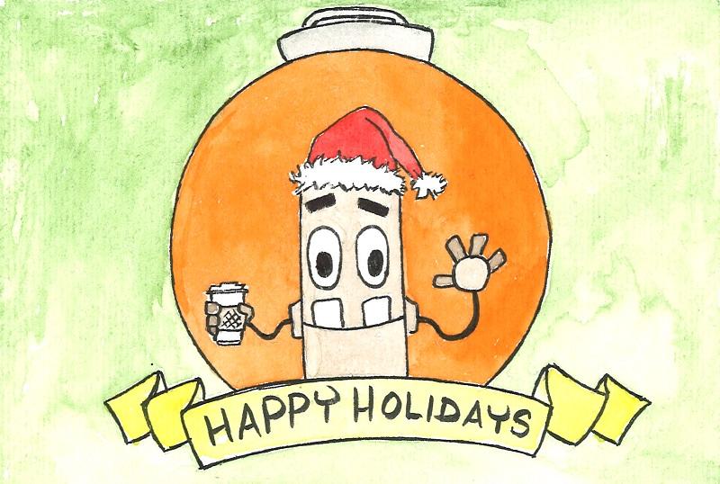 Happy Holidays 2014 by JoshHeusinkveld
