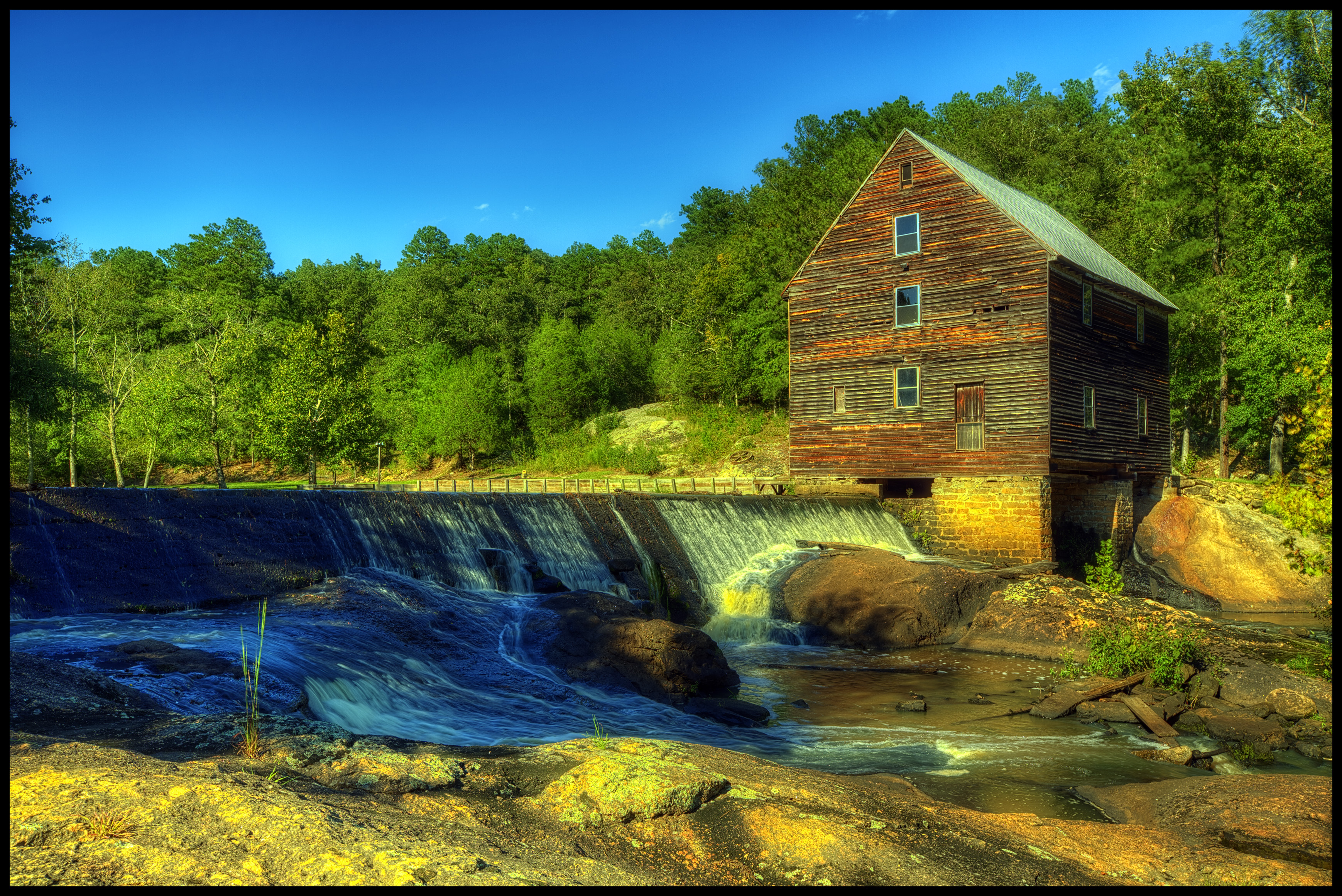 Laurel Mill At The Golden Hour by grandagon