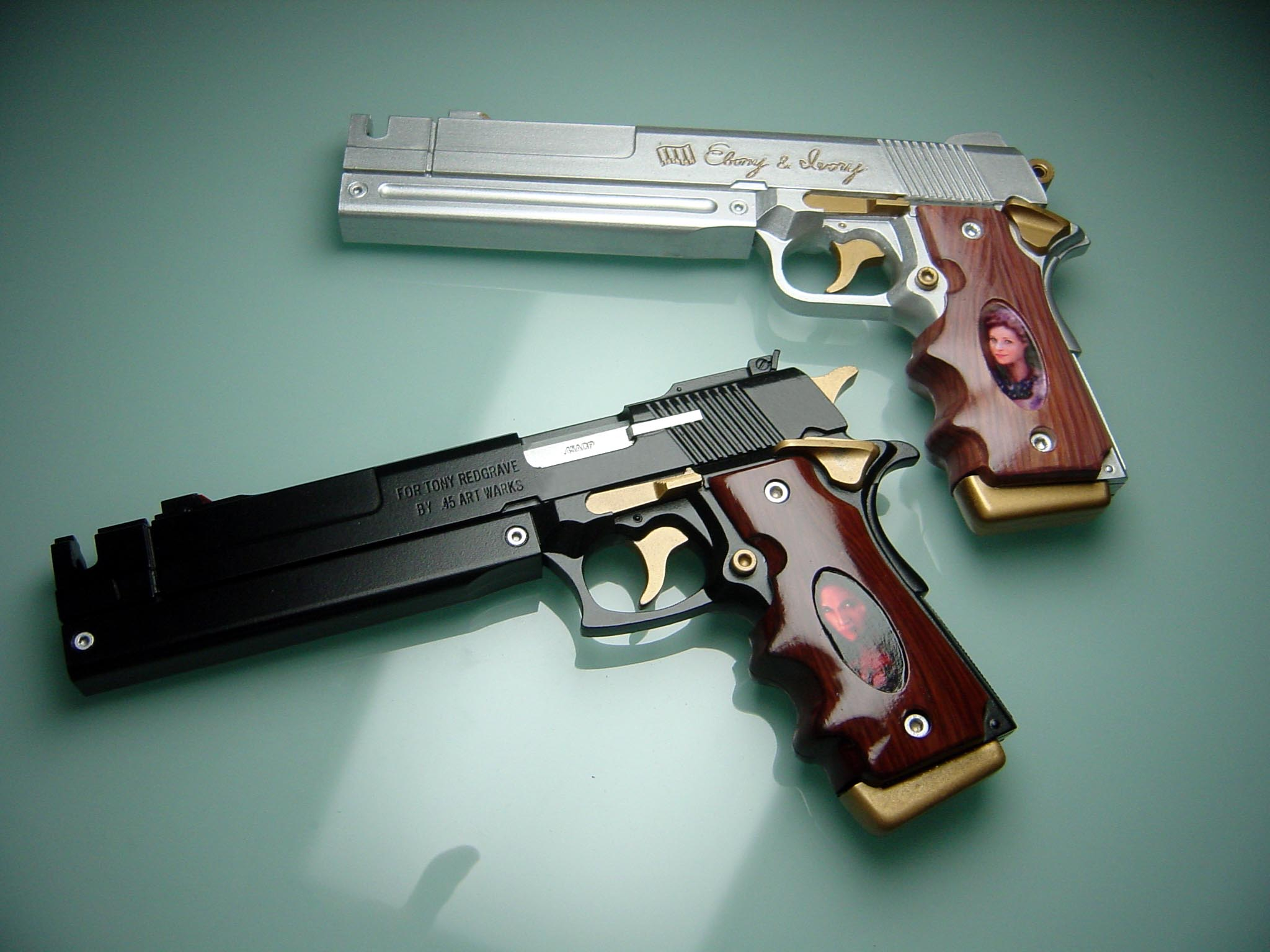 Devil May Cry Ebony And Ivory Replica 113