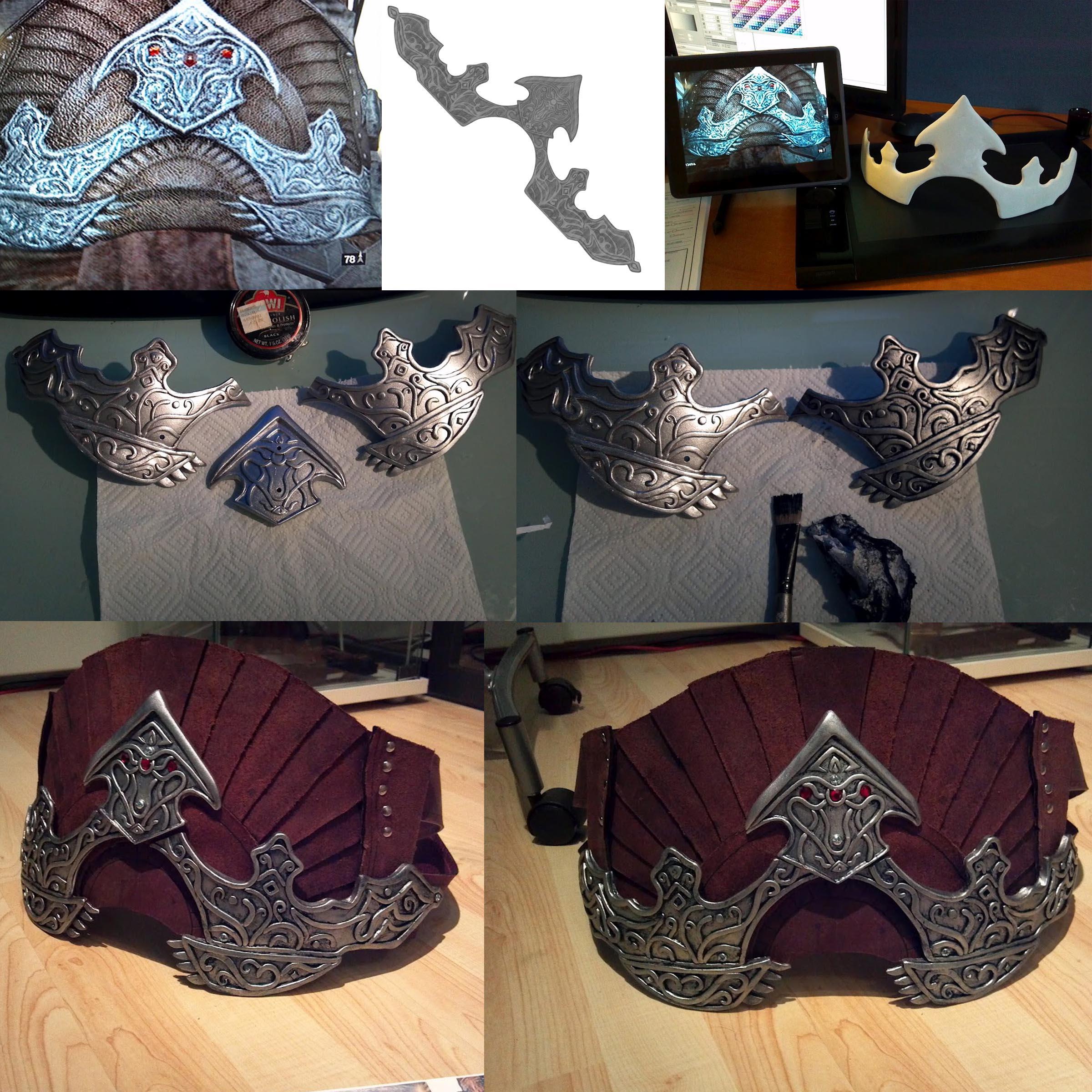 Assassin's Creed Turkish Belt Progress by Jay-Michael-Lee