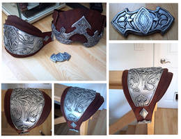 Assassins Creed Left Pauldron Complete by Jay-Michael-Lee