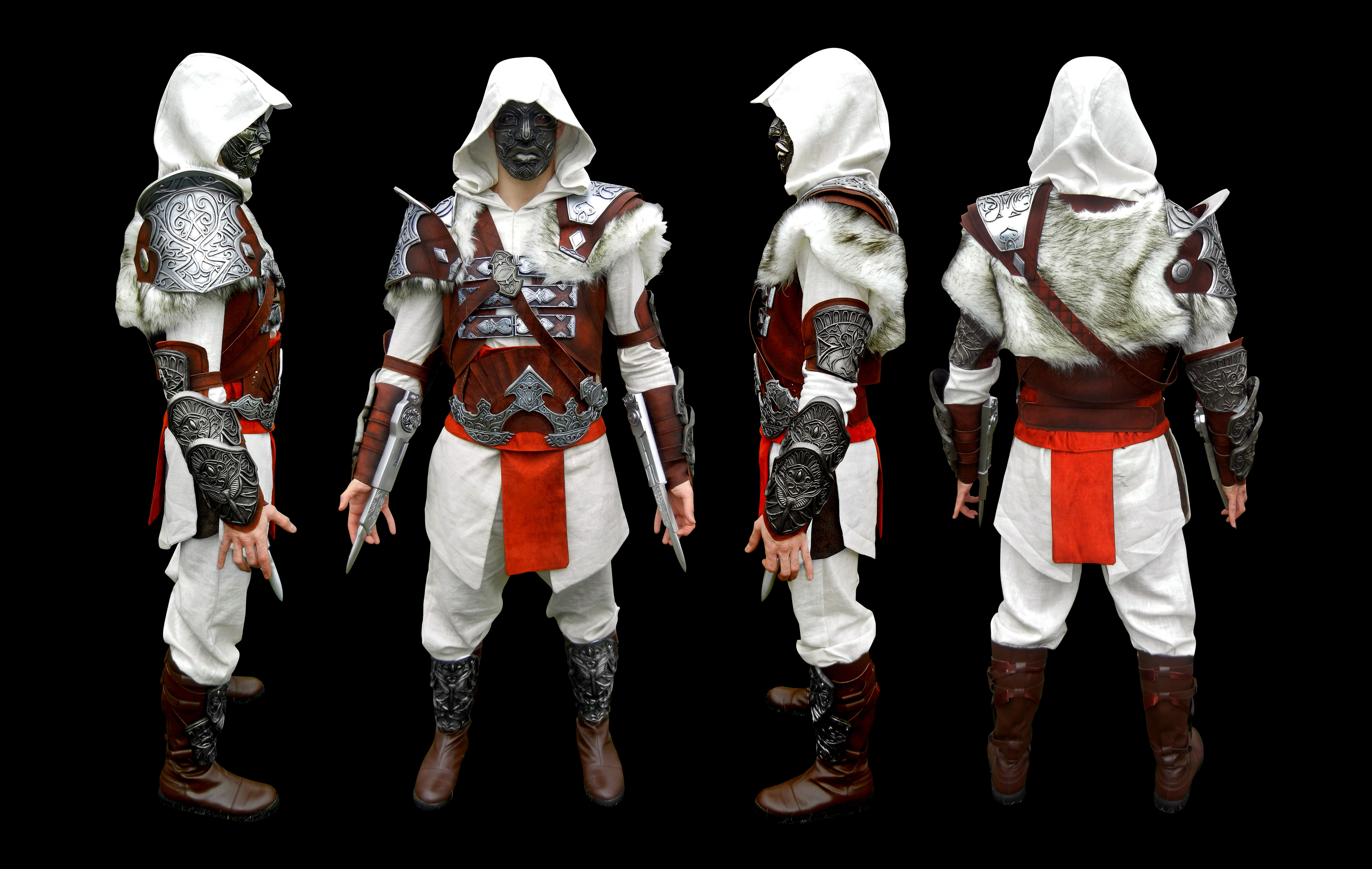 Finished Assassins Creed Armor Whoot By Jay Michael Lee On