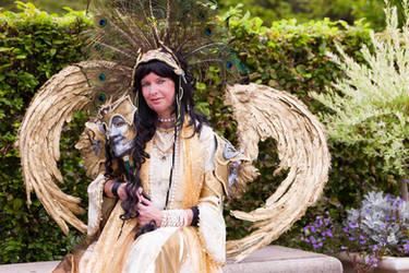 Golden Goddess Fortuna by Frau-Knopff