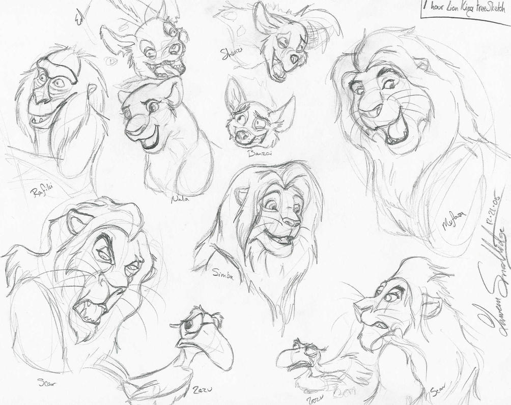 Uncategorized Lion King Sketch lion king facial sketches by whisper of shadows on deviantart shadows