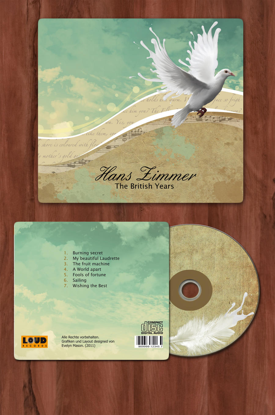 CD Cover Hans Zimmer by Eviii