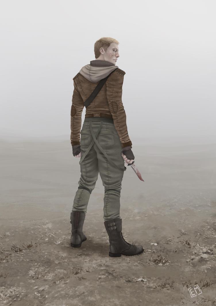 Warrior by Eviii