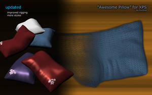 'Awesome Pillow' for XPS - re-uploaded by RonDoe