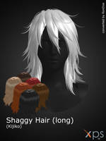 Kijiko - Shaggy Hair long for XPS by RonDoe