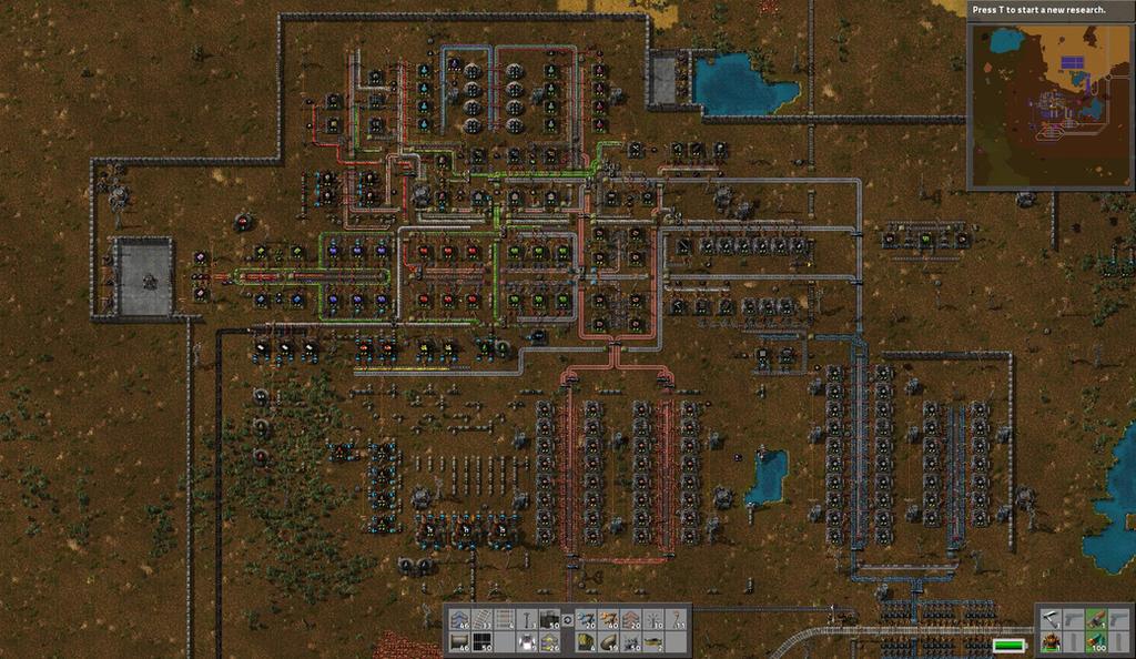 Factorio   My Base By RonDoe ...