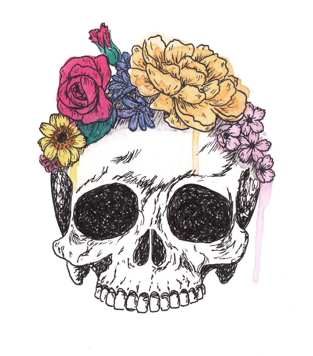Skull by carolroda6 on DeviantArt
