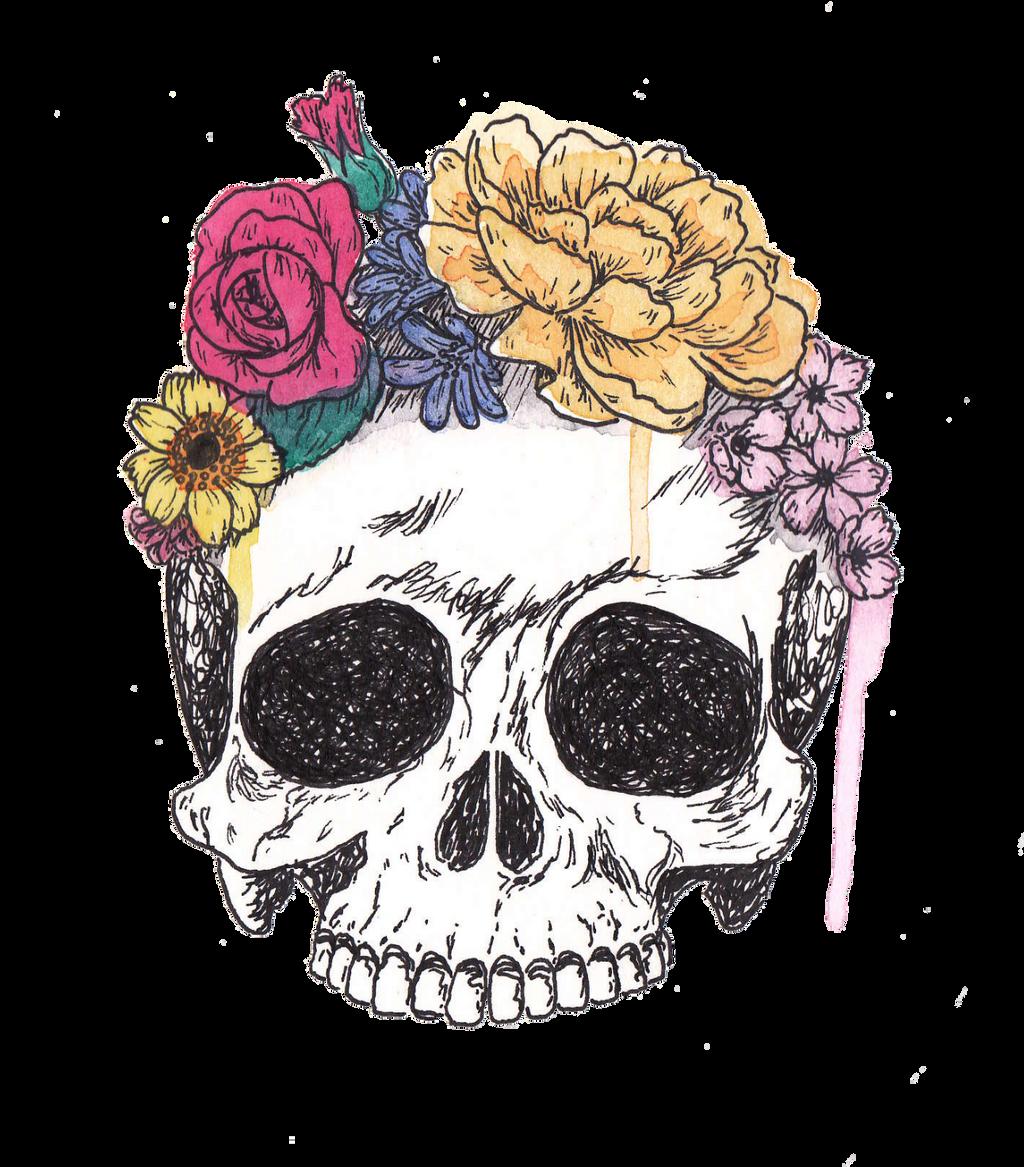 Skull by carolroda6 on DeviantArt