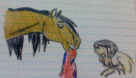 Spirit and INdian by CowgirlUpAndGetDown