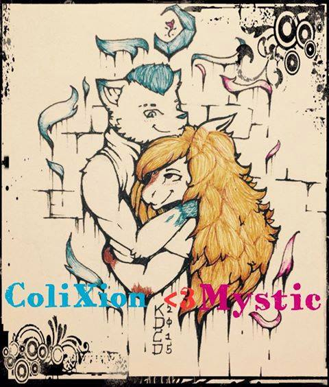 Colixion loves Mystic by CowgirlUpAndGetDown