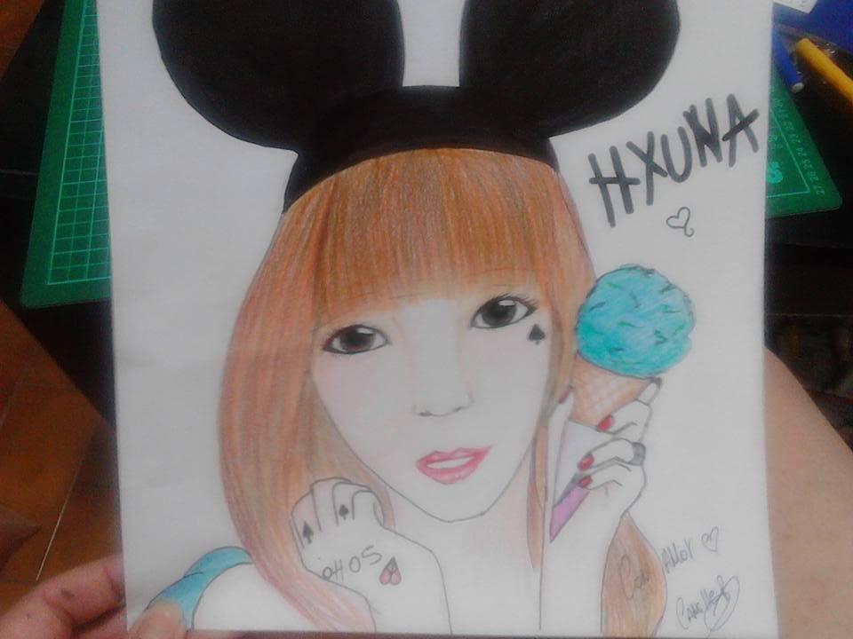 HYUNA by RESIDENTEVILNEJI89