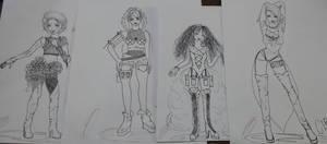 mis chicas by RESIDENTEVILNEJI89