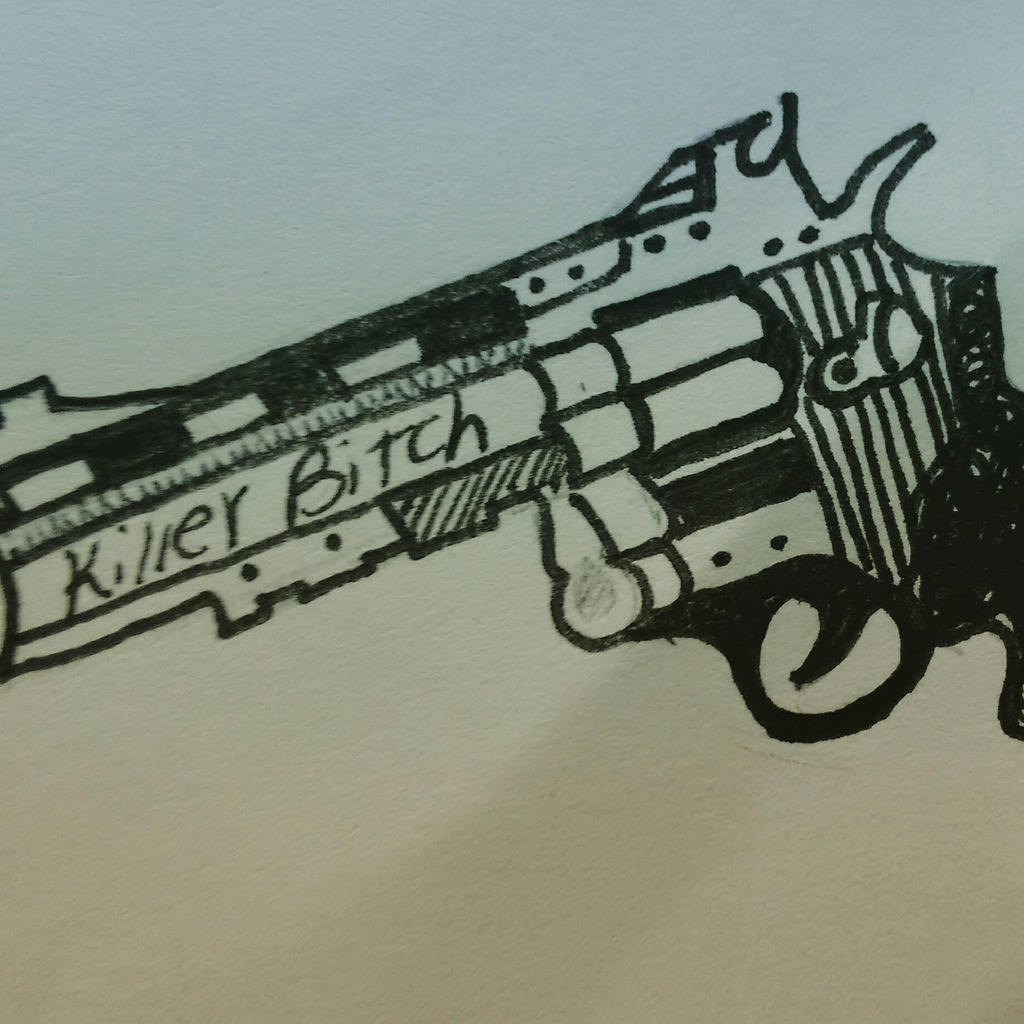 killer bitch by RESIDENTEVILNEJI89