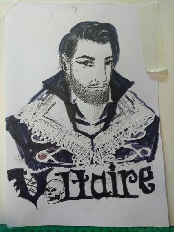 boceto de Aurelio by RESIDENTEVILNEJI89