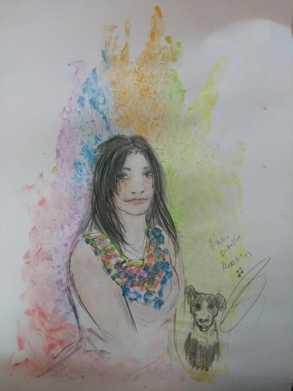 autoretrato con manchas by RESIDENTEVILNEJI89