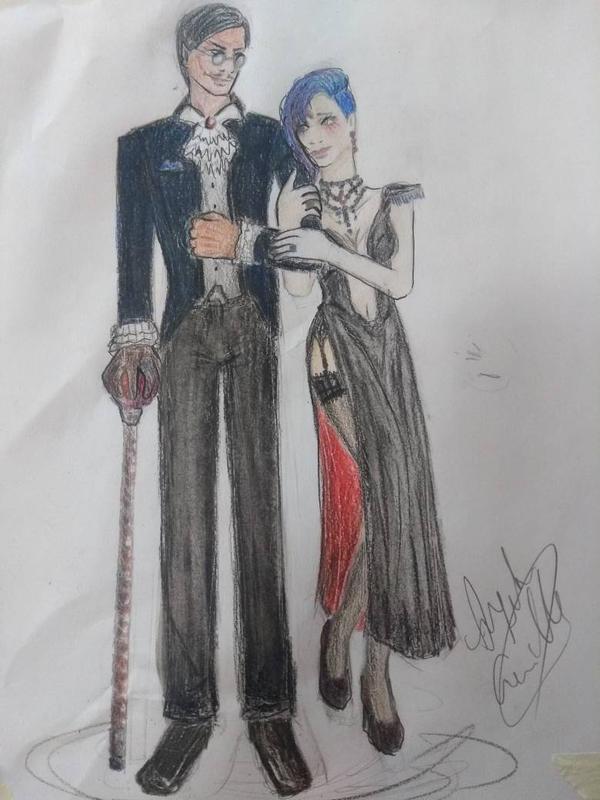 Avaricia y Cirque by RESIDENTEVILNEJI89