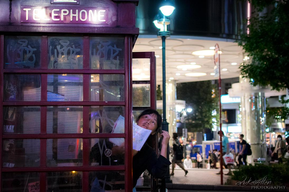 Teleported to Shibuya, Tokyo by Ulprus