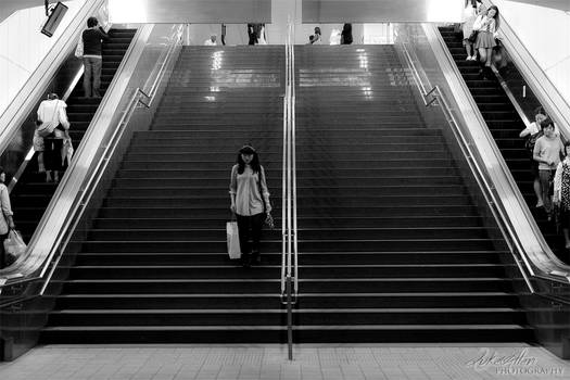 Braving the Stairs