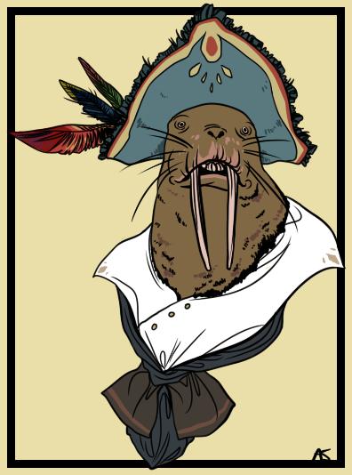 Captain Toothwalker by Skyfoogle