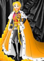 Disney Monarchs: Queen Rapunzel by Willemijn1991