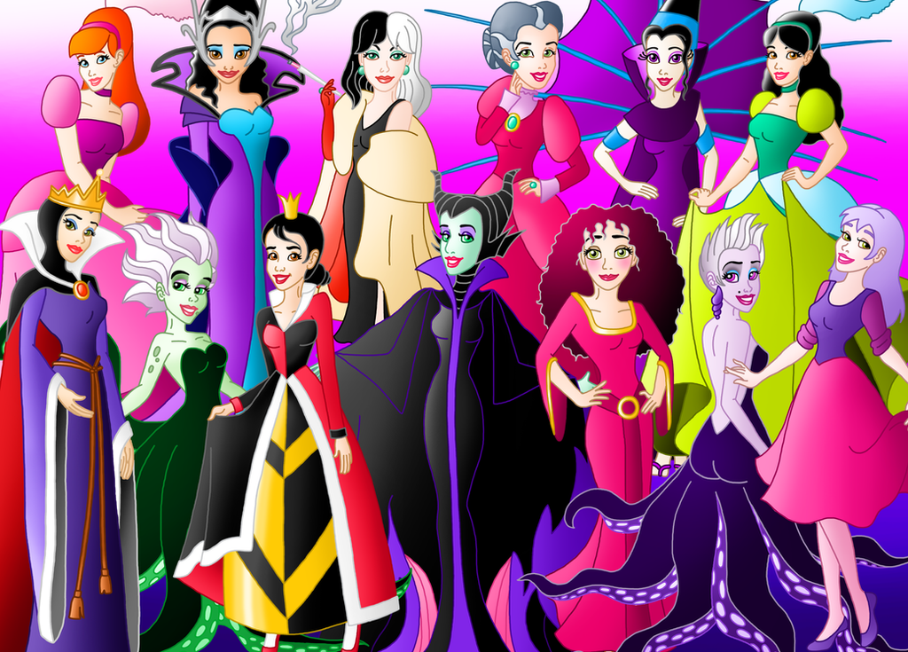 Disney Princess Villains Costume Pixshark
