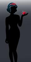 Disney silhouette: Snow White