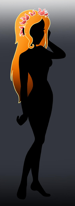Printable Disney Character Silhouettes Disney silhouette: giselle by Pixar Character Silhouettes