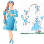 child's drawing gone Disney 5