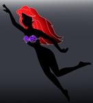 Disney silhouette: Ariel