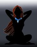 Disney silhouette: Pocahontas