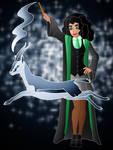 Disney Hogwarts students: Esmeralda