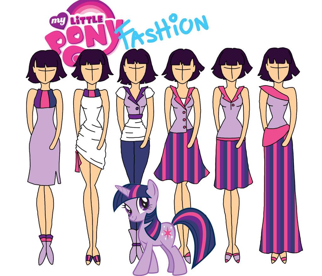 My Little Pony Fashion Twilight By Willemijn1991 On Deviantart