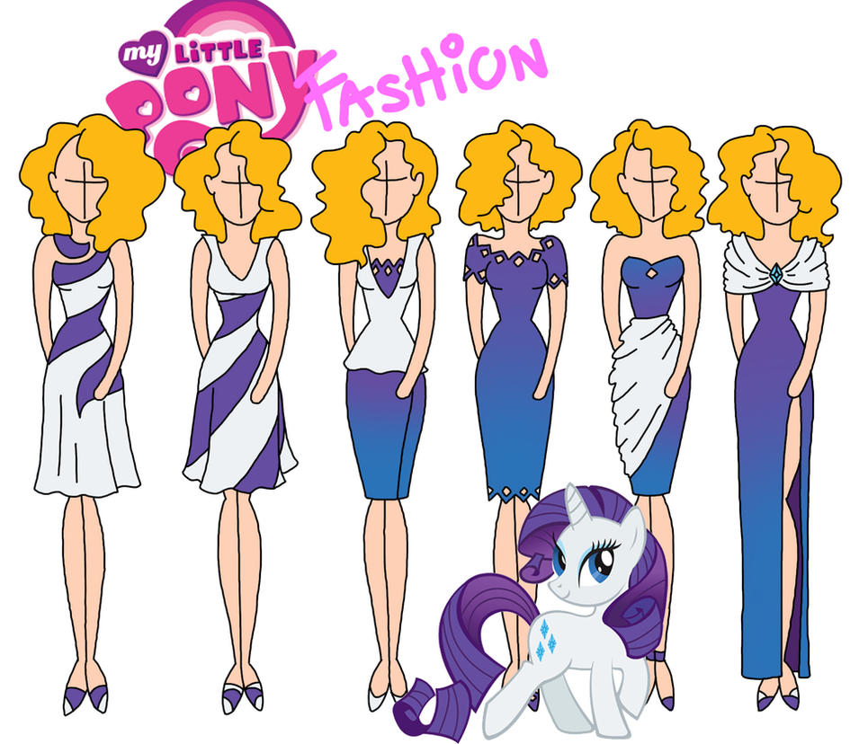 My Little Pony Fashion Rarity By Willemijn1991 On Deviantart
