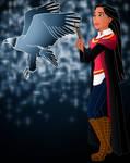 Disney Hogwarts students: Pocahontas
