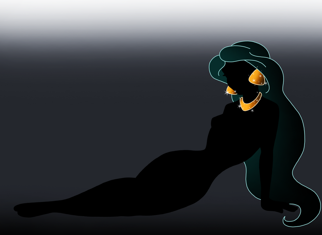 Disney Silhouette: Jasmine by Willemijn1991 on DeviantArt Disney Princess Silhouettes