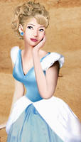 Realistic princess: Cinderella by Willemijn1991