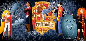 Disney Hogwarts students: Gryffindor