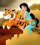 Disney Superheroes: Jasmine