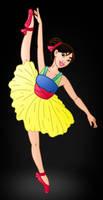 Disney Ballerina's: Mulan