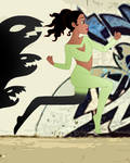 Disney Superheroes: Tiana