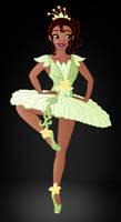 Disney Ballerina's: Tiana