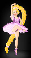 Disney Ballerina's: Rapunzel